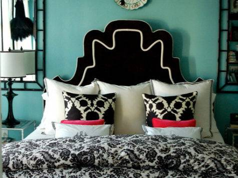 Black Turquoise Bedroom Panda House