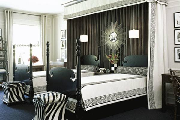 Black White Bedroom Designs Teenage Girls