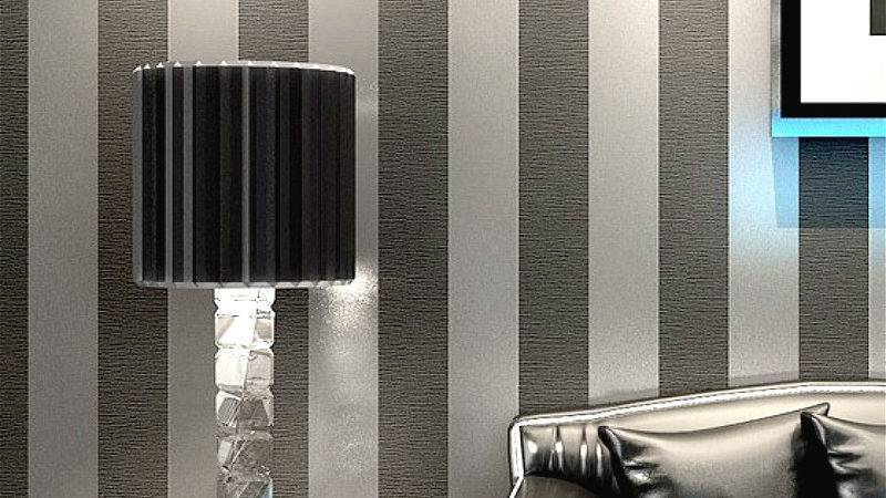 Black White Feature Wall