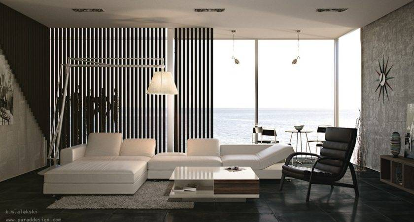 Black White Interior Design Living Room Olpos