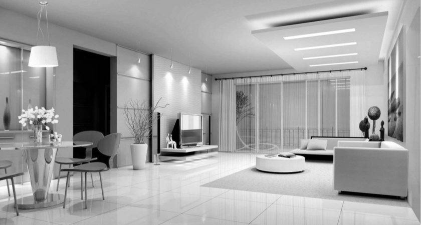 Black White Interior Luxury Design