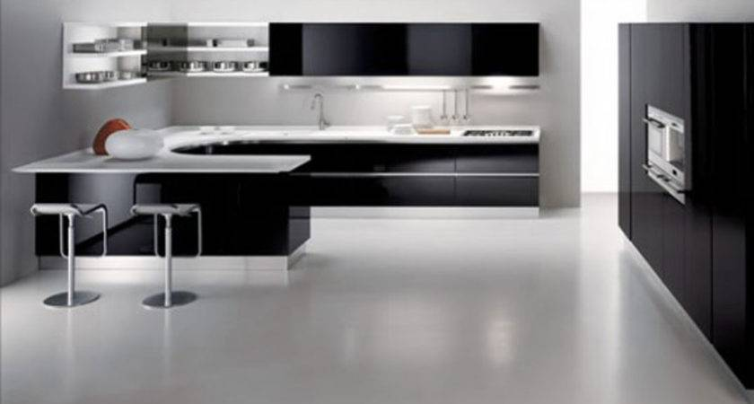 Black White Kitchen Decobizz
