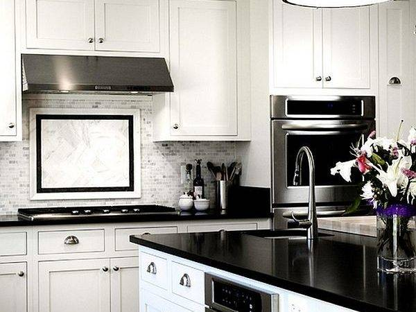 Black White Kitchens Ideas Photos Inspirations