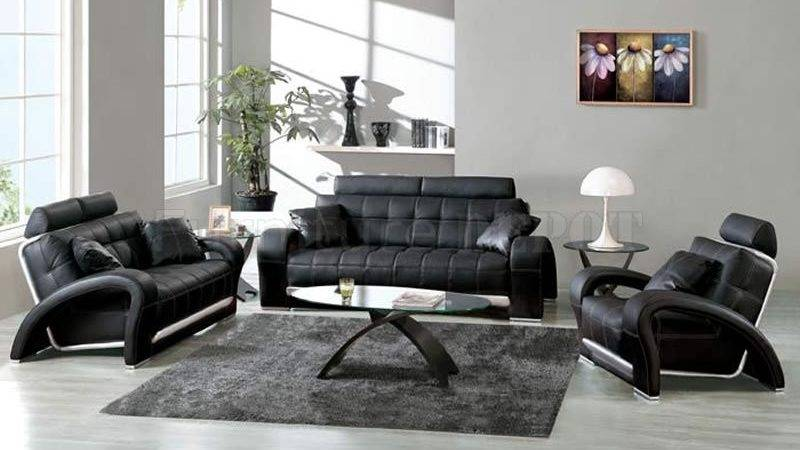 Black White Living Room Design Ideas