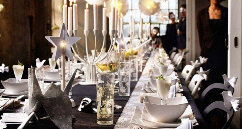 Black White Masquerade Party Ideas Home Design