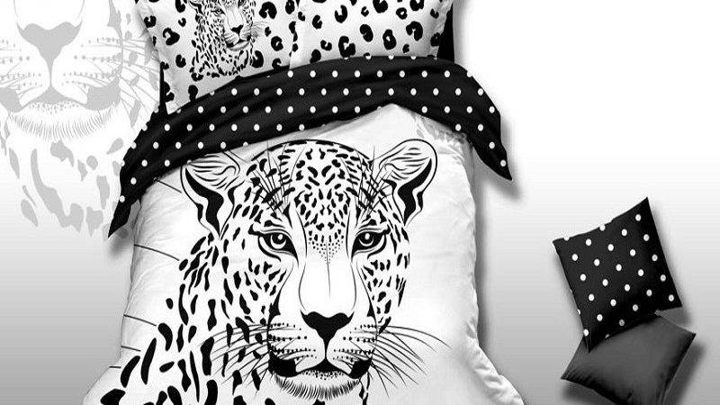 Black White Tiger Print Jungle Animal Friends Themed
