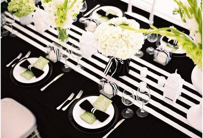 Black White Yellow Wedding Decoration Ideas Decorating
