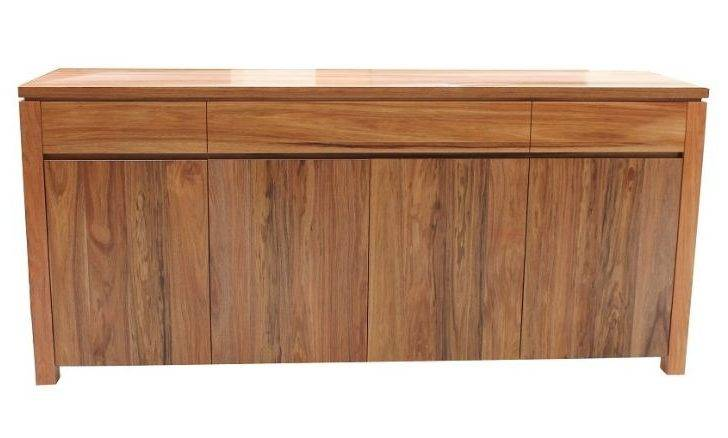 Blackwood Timber Buffet Golden Wood Furniture