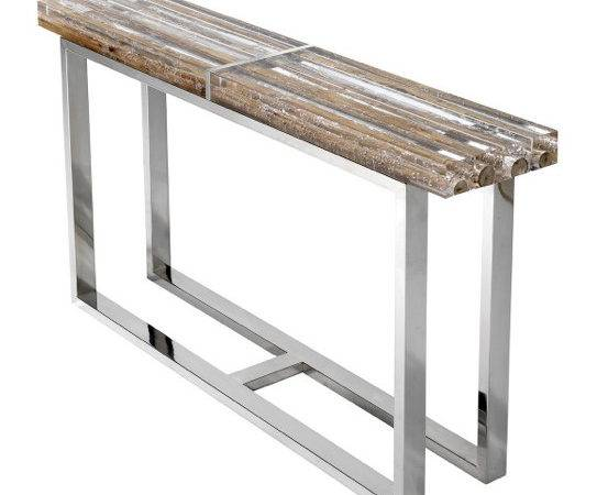 Bleu Nature Acrylic Console Table