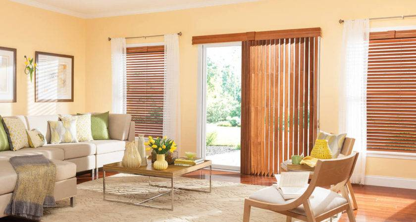 Blinds Bali Today Lowes Soft Yellow Spacious Living Room
