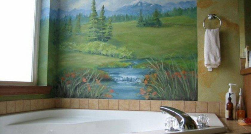 Blinds Decor Wall Mural Bathroom Best Collection