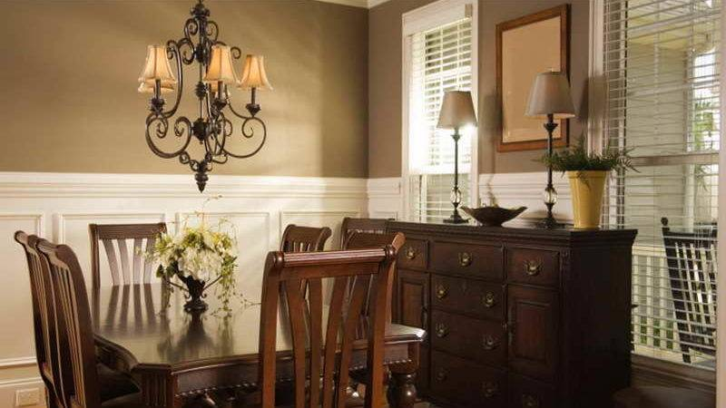 Bloombety Dining Room Wall Decor Ideas Oak Color