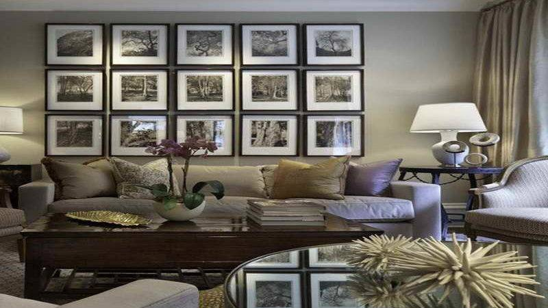 Bloombety Gray Living Room Color Schemes Wall Decor