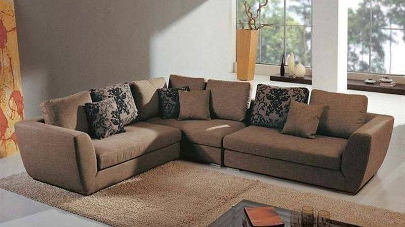 Bloombety Living Room Sectionals Brown Carpet