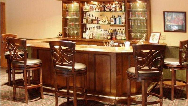 Bloombety Mini Custom Home Bar Decorating Ideas