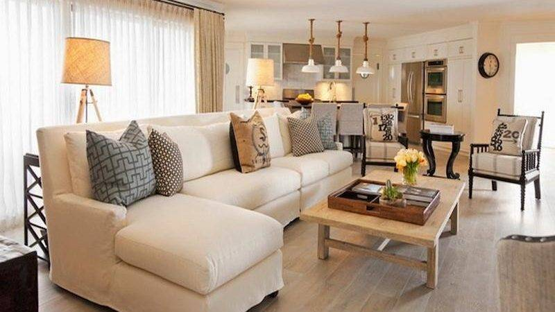 Bloombety Modern Cottage Style Living Room Decorating