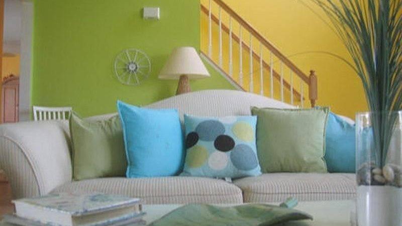 Bloombety Modern Living Room Color Combinations