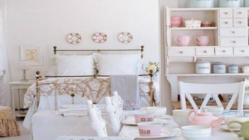 Bloombety Shabby Chic Apartment Furniture Decor