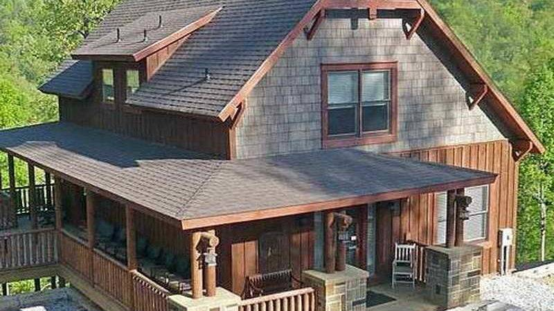 Bloombety Small Rustic Home Plans Nice Roof