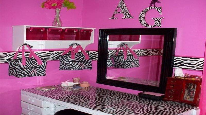Bloombety Sweet Zebra Room Decorating Ideas