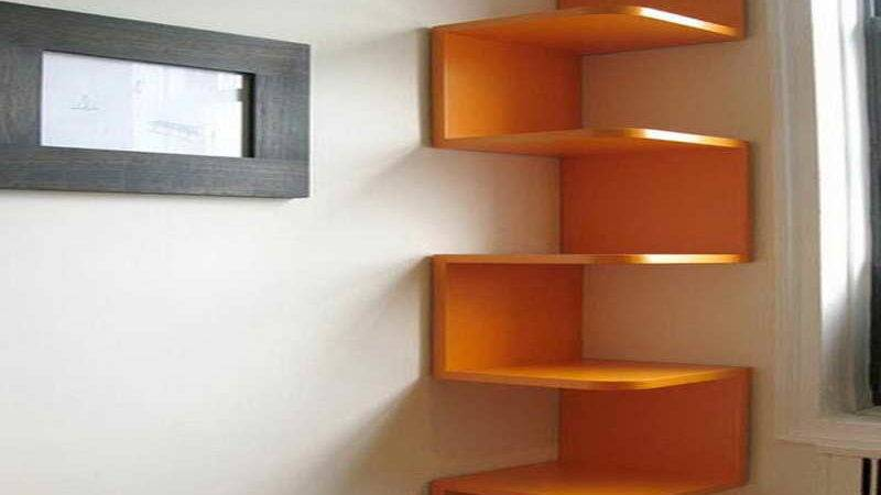 Bloombety Wall Shelf Ideas Corner Different Options