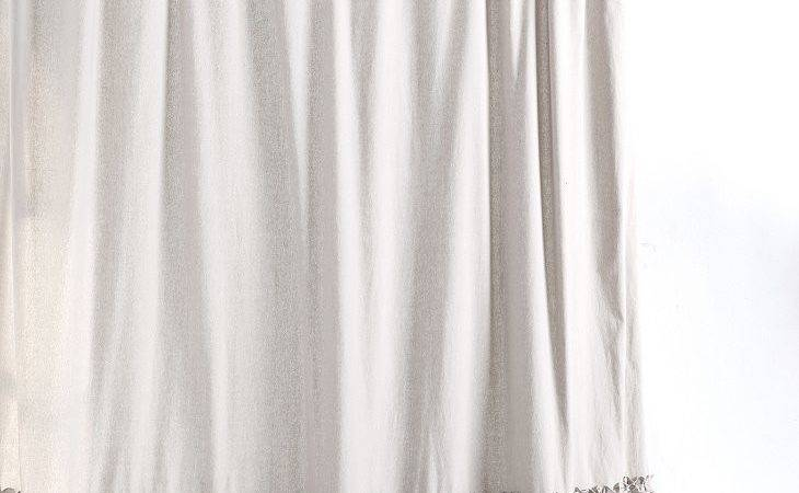 Bloomer Ruffle Shower Curtain Urban Outfitters