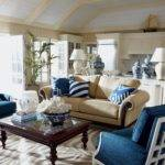 Blue Accent Chairs Living Room Cool Inside