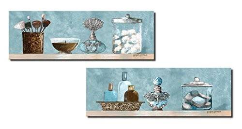 Blue Brown Bathroom Decor Amazon