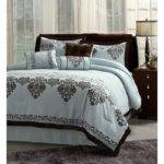 Blue Brown Bed Sets Home Decor Interior Design