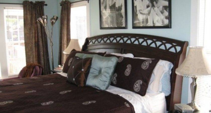 Blue Brown Bedroom Ideas Tjihome