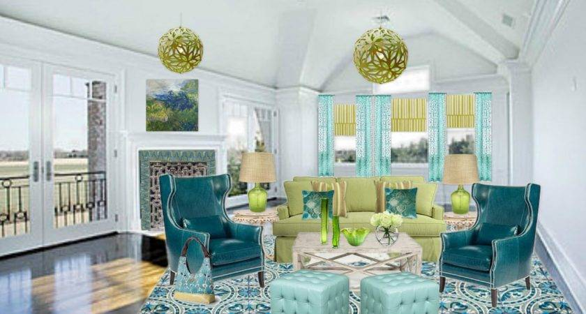 Blue Green Bedroom Decorating Ideas Home Design