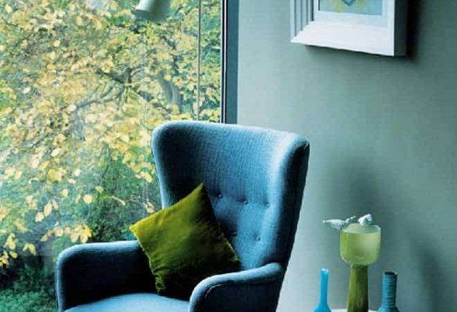 Blue Green Interiors Design Interesting