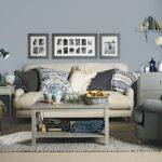 Blue Grey Living Room Housetohome