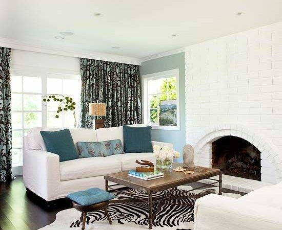 Blue Living Room Design Ideas