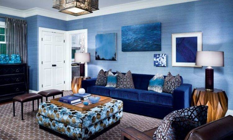 Blue Living Room Ideas Designs
