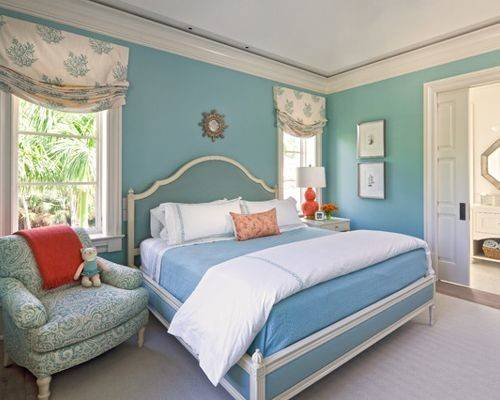 Blue Orange Bedroom Ideas Remodel Decor