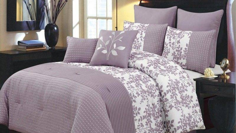 Blue Purple Comforter Sets