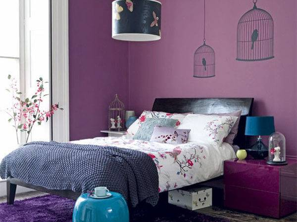 Blue Purple Interior Designs Interiorholic