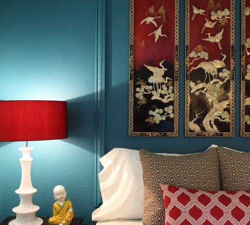 Blue Red Room Inspiration Pursuit Functional Home