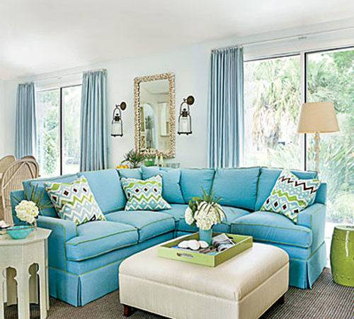 Blue Rooms Tour Florida Home Enduring Charm