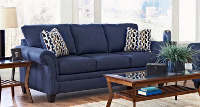 Blue Sofas Canada Couch Living Room