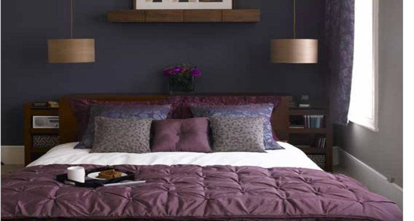 Blue Wall Color Combinations Purple Colour Home Combo