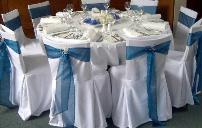 Blue Wedding Cocktail Party Ideas