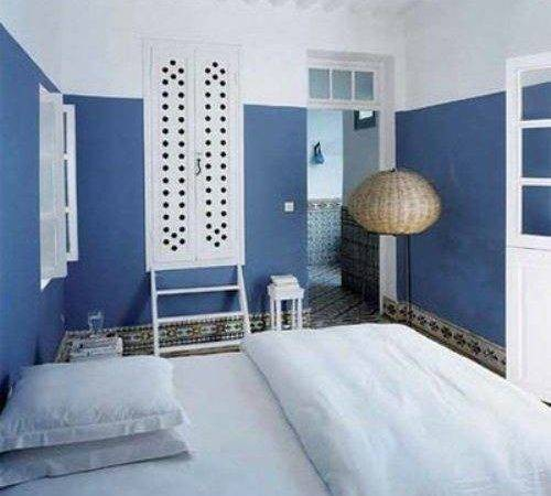 Blue White Bedroom Decorating Ideas Home Designs