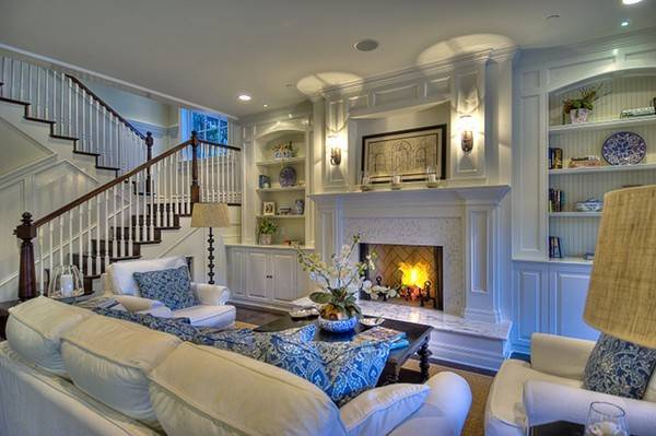 Blue White Inspiration Belclaire House