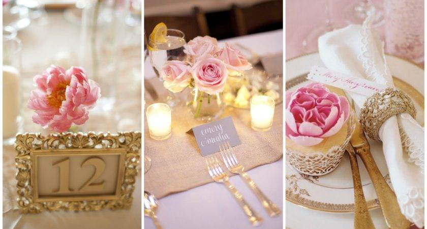 Blush Pink Gold Wedding Inspiration One Charming Day