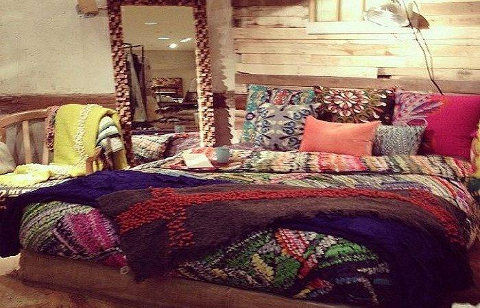 Bohemian Bedding Design Ideas