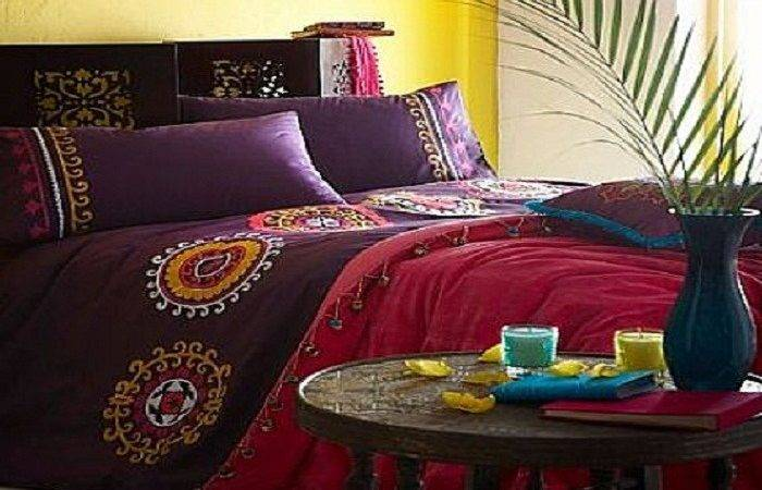 Bohemian Style Bedrooms Ideas Bedding Sets