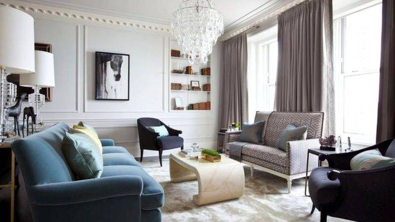 Bold Art Deco Inspired Living Room Designs Rilane