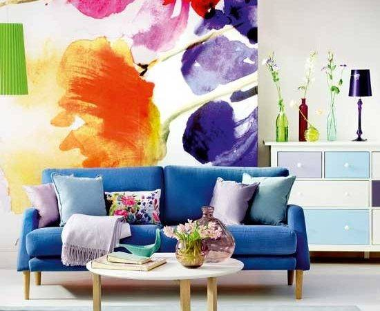 Bold Floral Living Room Decorating Ideas Housetohome